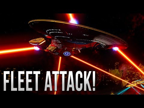 FLEET ATTACK  - Star Trek Online [Tzenkethi Battlezone]