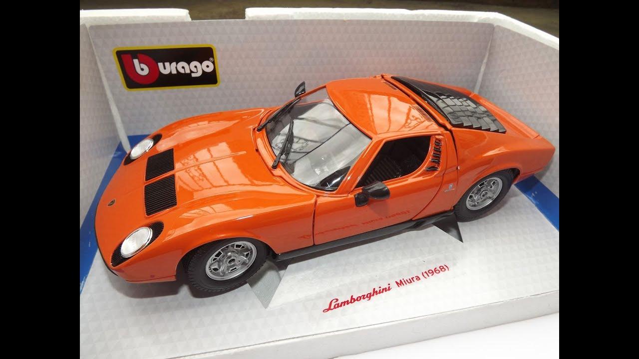 Bburago Lamborghini Miura 1 18 Youtube