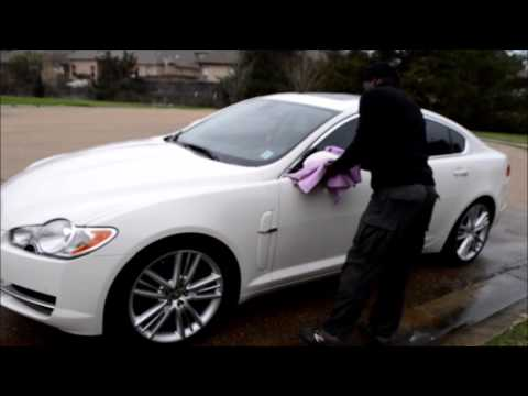 Mobile Car Wash: Cool Jag: First Car Wash Of the Year