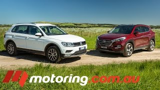 2016 Hyundai Tucson VS Volkswagen Tiguan | Comparison Test