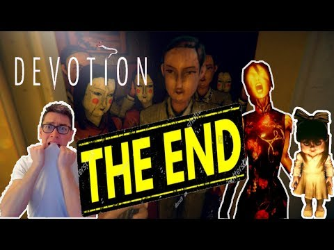 Taiwanese Horror Game removed from Steam - DEVOTION - Daddy's Sad Ending - THE END