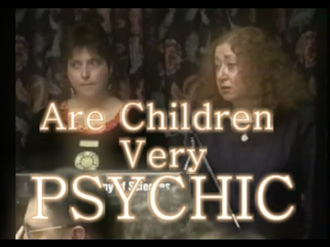 Are children very psychic?