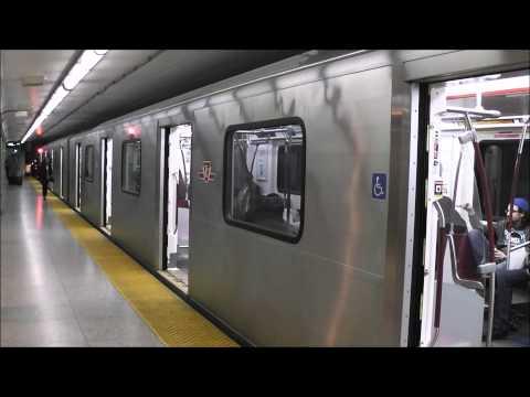 Toronto TTC Subway: Transferring at St George, 16.03.12