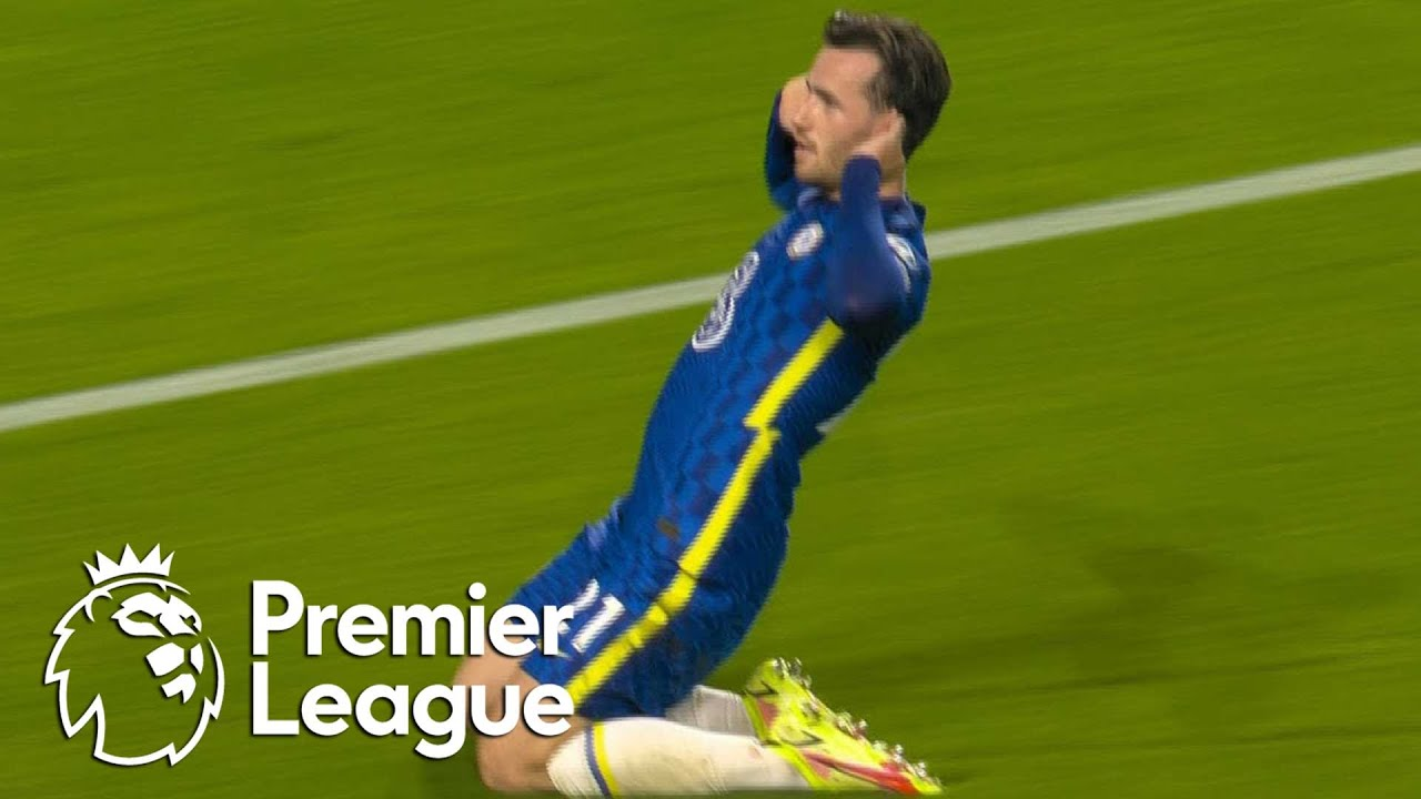 WATCH: Ben Chilwell amazing volley to open the scoring for ...