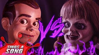 Slappy Vs Annabelle (Goosebumps Vs The Conjuring Scary Horror Rap Battle Parody)