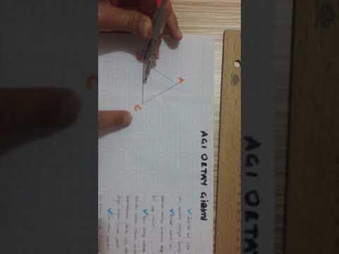 Açı Ortay Çizimi-Geometri