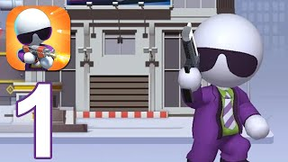 Agent J - Gameplay Walkthrough Part 1 (Android,iOS)