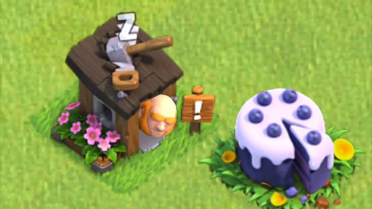 """GIANTS LOVE TO EAT CAKE!!! """"Clash Of Clans"""" 6th anniversary!!"""