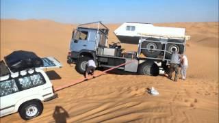 Tunisie MAN 4x4, HDJ 80, IVECO 4x4