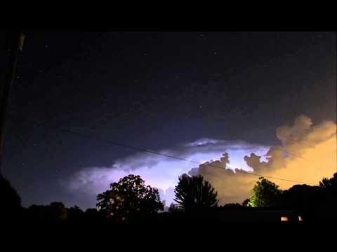 Lightning Storm - West Monroe, LA