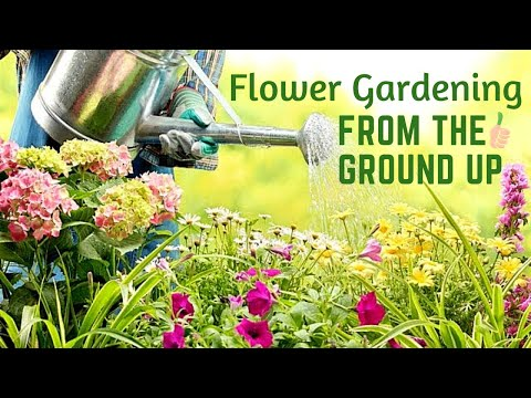 flower gardening from the ground up