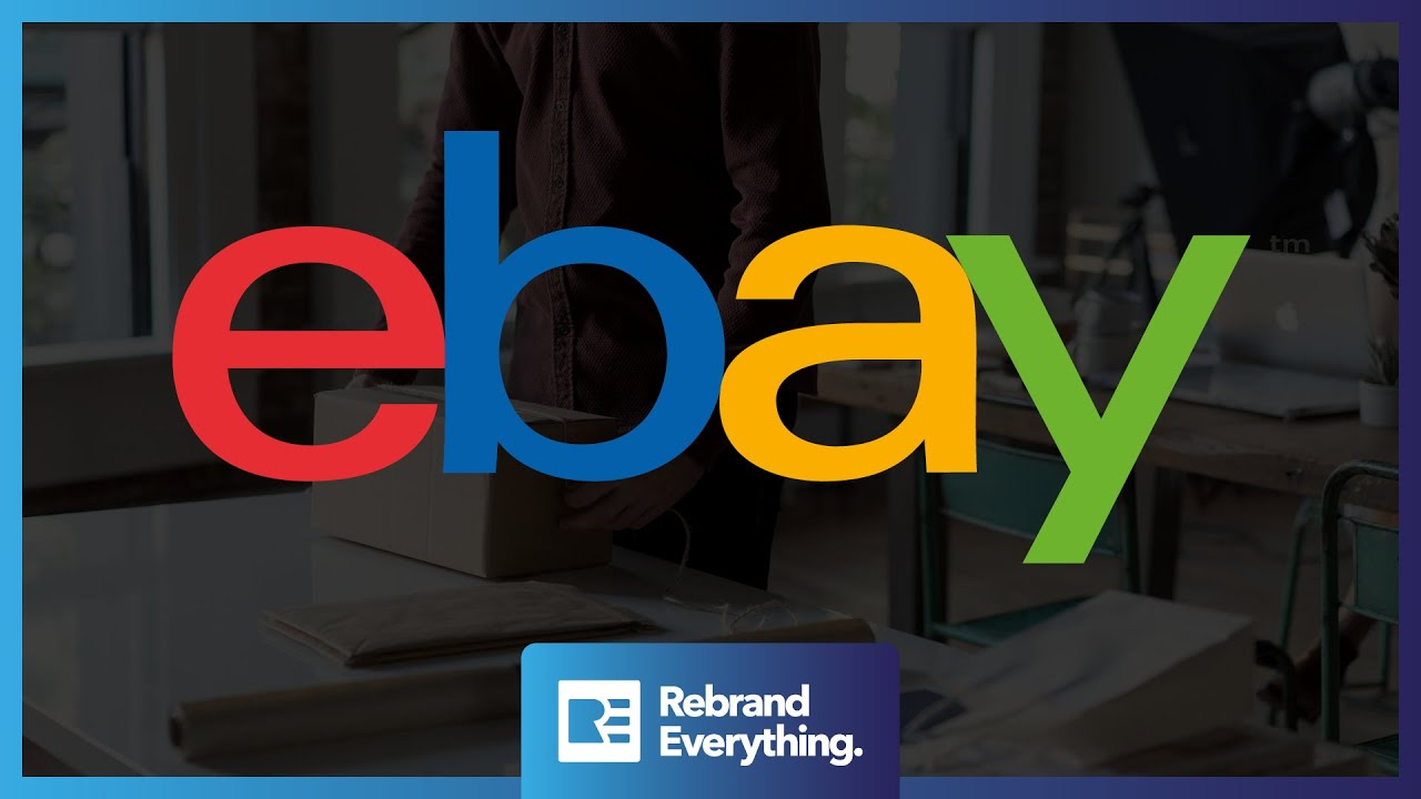 Redesigning The Ebay Mobile Icon Watch The Logo Design Process Start To Finish Youtube