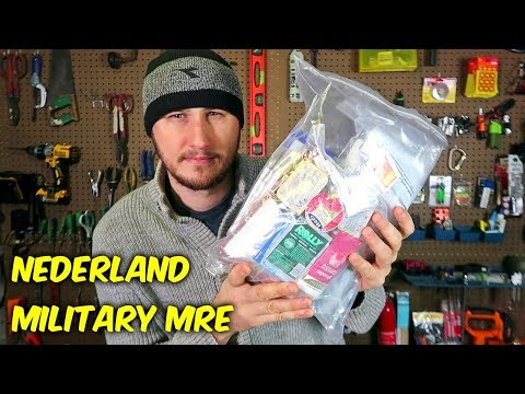 Testing Nederland Military MRE (Meal Ready to Eat)