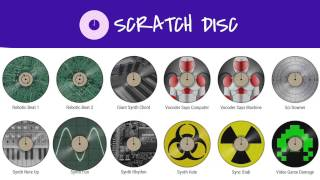 Scratch Disc Performance Using the Included Sound Set