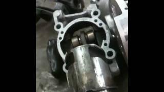 STIHL GAS TRIMMER REPAIR: Stihl FS 40 Grass Trimmer RAN NO OIL IN GAS , blown engine top end