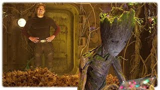 Guardians Of The Galaxy 2 Teen Groot Extended Scene 2017