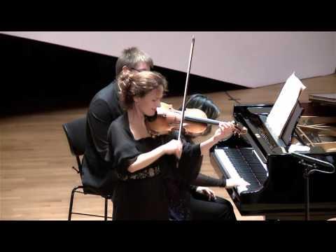 Maurice Ravel, Tzigane (Sandrine Cantoreggi violin - Connie Shih piano)