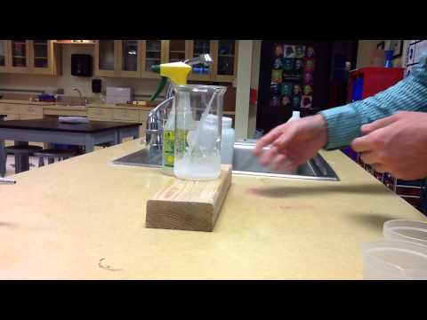 Endothermic Reaction, SMES-ES Lab