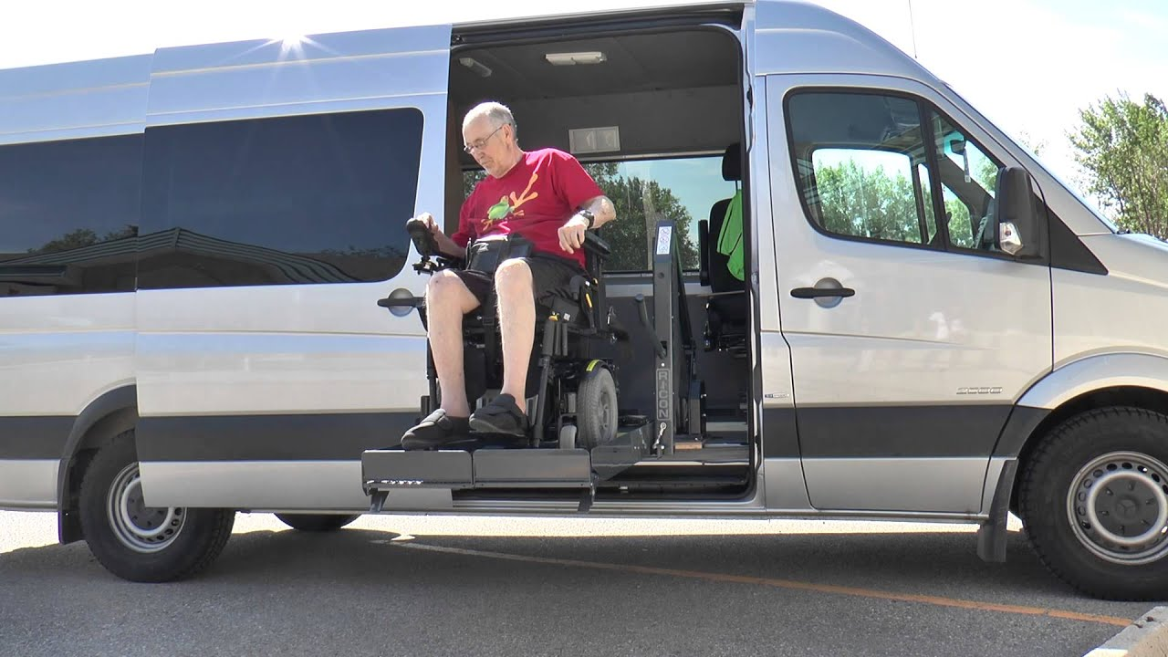 Mercedes Benz Sprinter Wheelchair Accessible Van Youtube
