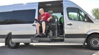 Mercedes-Benz Sprinter Wheelchair Accessible Van thumbnail