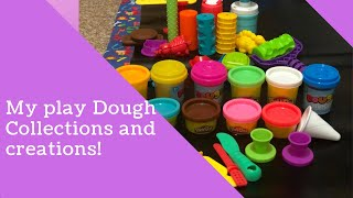 My Play dough Collections and creations part 2
