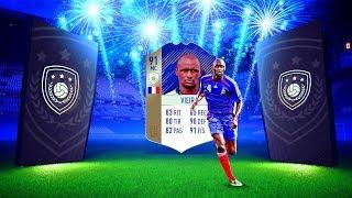 VIEIRA 91 ICONO PRIME Y FICHAJE ESTRELLA !! FIFA 18