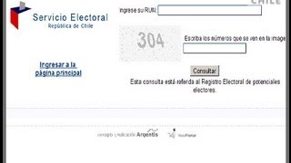 Polémica Servel: ahora sólo con el rut se puede conocer información de votantes