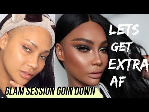 ITS GLAM TIME LET'S BE EXTRA | SONJDRADELUXE