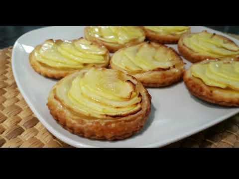 c'est-tellement-bon-facile-et-très-rapide-mini-tartelettes-aux-pommes-😋👌بالعربية-و-الفرنسية