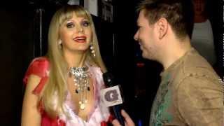 Натали на BRIDGE TV 02.2012