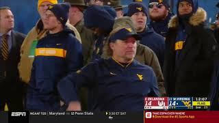 2018 - Oklahoma Sooners at West Virginia Mountaineers in 40 Minute