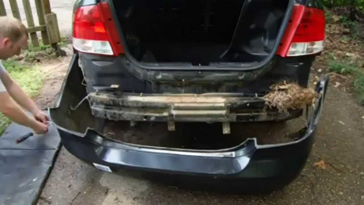 How To Remove And Install Chevy Aveo Rear Bumper Cover