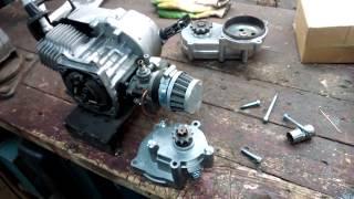 Краткий обзор китайского мотора для самоделок и редукторов к нему.