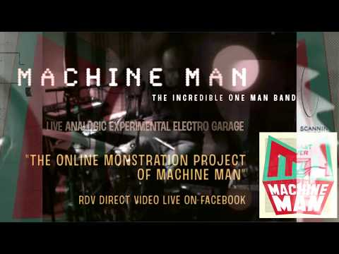 """""""The Incredible MACHINE MAN"""" - DIRECT LIVE VIDEO X51 - """"ONLINE MONSTRATION"""" #2"""