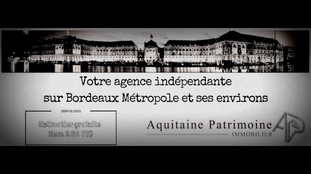 Appartement t3 bordeaux youtube for Recherche appartement t3 bordeaux