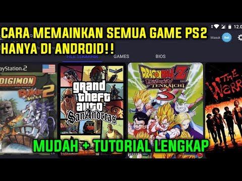 WOW!! CARA MEMAINKAN SEMUA GAME PS2 DI HP ANDROID - MUDAH + TUTORIAL LENGKAP!! - 동영상