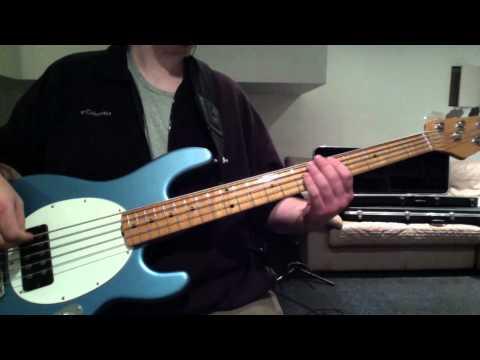 Incubus Anti Gravity (Summer Romance) Bass Cover