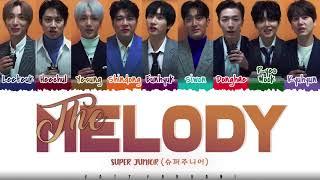 Download SUPER JUNIOR - 'THE MELODY' (우리에게) Lyrics [Color Coded_Han_Rom_Eng]