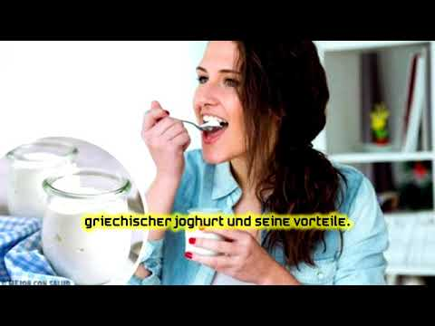 Griechischer Joghurt Gewichtsverlust Vorteile