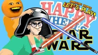 Annoying Orange Plays - Happy Wheels: Star Wars Levels!
