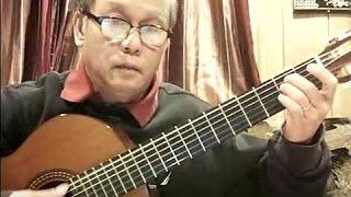 Đêm Thấy Ta Là Thác Đổ (Trịnh Công Sơn) - Guitar Cover by Bao Hoang