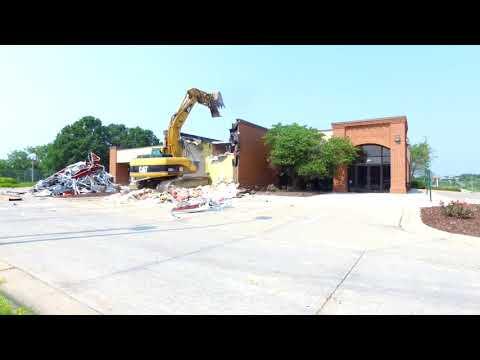 First National Bank demolition timelapse