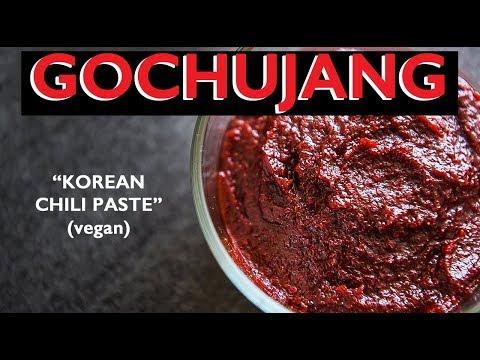 KOREAN CHILI PASTE ***EASY 5 MIN RECIPE*** HOW TO MAKE GOCHUJANG (고추장)