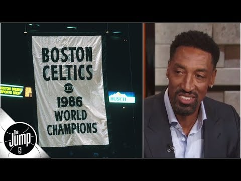 'It doesn't get any better' - Scottie Pippen reflects on playing in Celtics' arena | The Jump