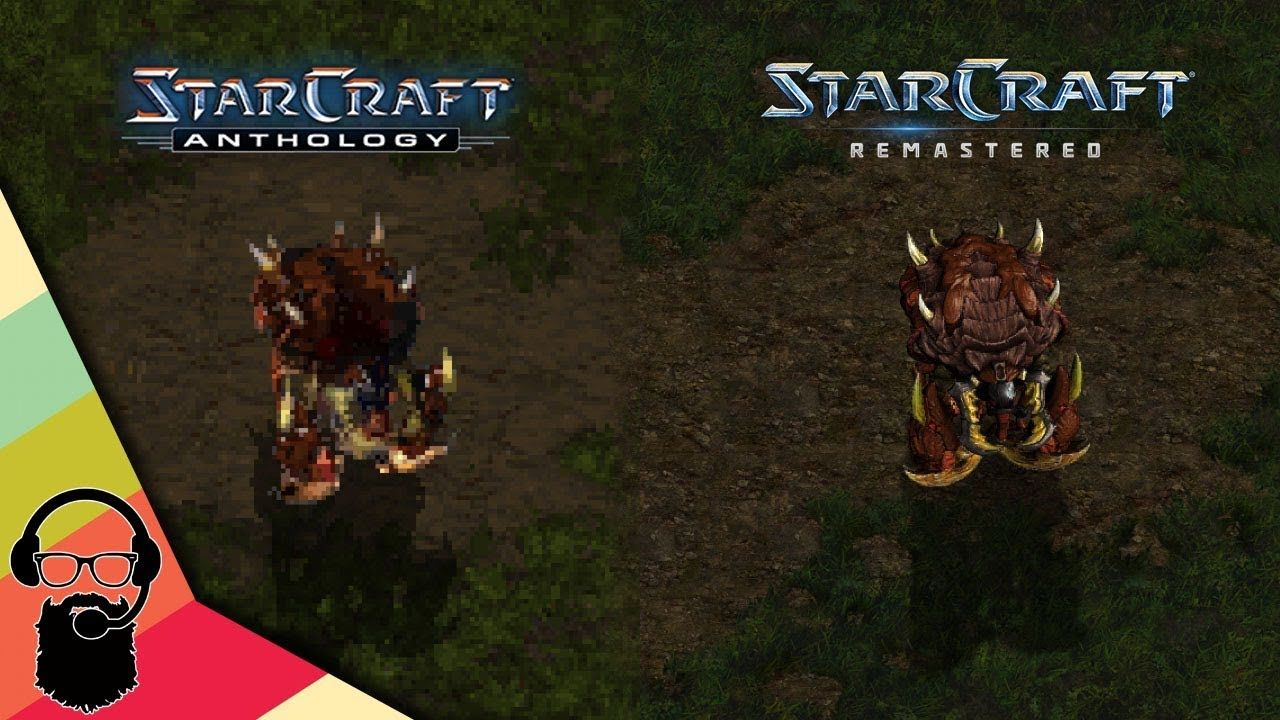 starcraft remastered zerg units