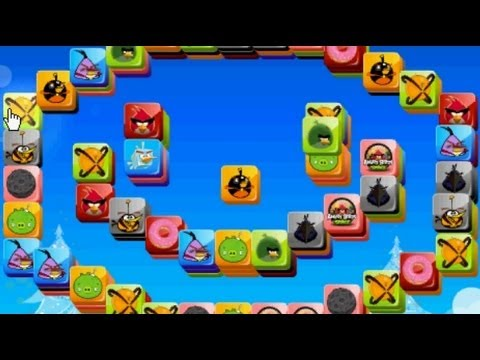 Angry Birds Mahjong - Free Game online Gameplay Magicolo ...