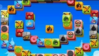 Angry Birds Mahjong - Free Game online Gameplay Magicolo 2013