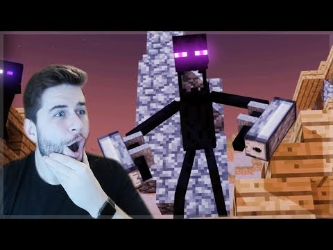 REACTING TO SWORD OF INFINITY MINECRAFT MOVIE!! Minecraft Animations