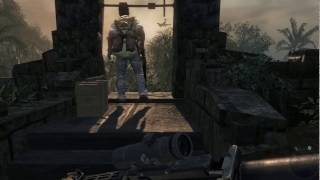 Call of Duty 7 Black ops gameplay Mision Operation , Crazy Player