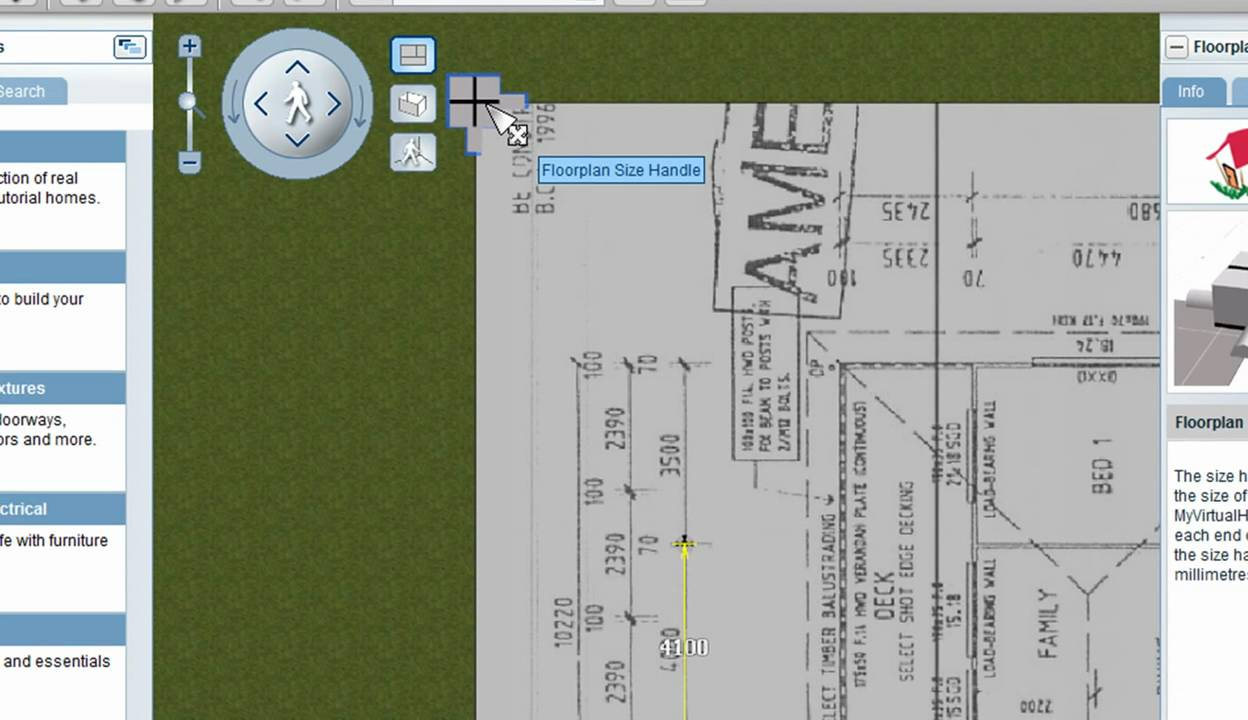 Using A Floorplan To Create Your 3d Design Youtube